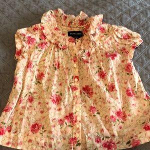 Ralph Lauren flower top